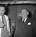 1957 Visite du ministre de l'agriculture Mr ANDRE DULIN au CNRZ-12-cliche Jean Joseph Weber.jpg