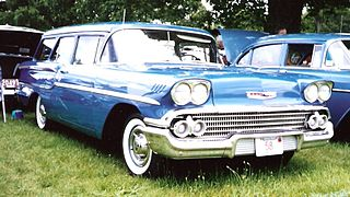 Chevrolet Yeoman Station wagon produced by Chevrolet for the 1958 model year