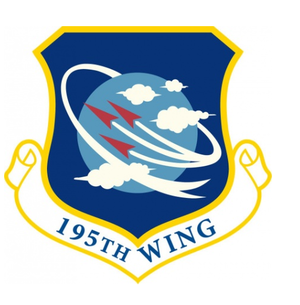 195th Wing - Image: 195th Wing emblem