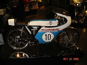 Morbidelli - Morbidelli 50 cc Grand Prix, 1971 at the Barber Vintage Motorsports Museum.