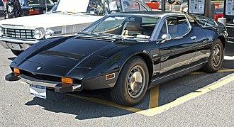 Maserati Bora - US-spec 1974 Maserati Bora