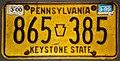 1977 Pennsylvania license plate 865-385.jpg