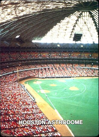 1987 Houston Astros season - Image: 1987 Mother's Cookies Houston Astrodome
