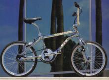 1985 GT BMX Mach One down tube decal