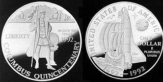 Columbus Quincentenary 500th anniversary of Christopher Columbus arrival in America
