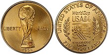 1994 World Cup Five Dollars Coin
