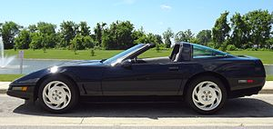 Chevrolet Corvette (C4) - 1996 Chevrolet Corvette Coupe