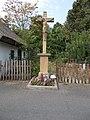 19th century listed crucifix, Beri-Balogh Street, 2016 Szekszard.jpg