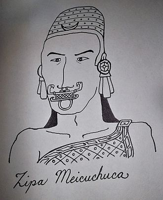 Muisca rulers - Image: 1Meicuchuca