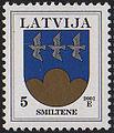 20010305 5sant Latvia Postage Stamp.jpg