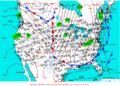2003-01-27 Surface Weather Map NOAA.png