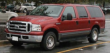 2001 Ford Expedition Eddie Bauer >> Ford Excursion - Wikipedia