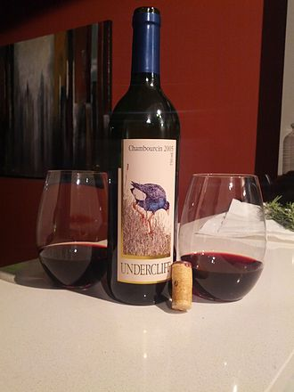 Chambourcin - Chambourcin wine from the New South Wales region of Australia.