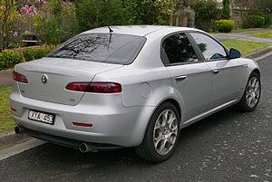 Alfa Romeo 159 - 159 JTS Q4 sedan