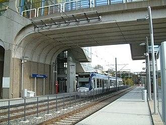 Driemanspolder RandstadRail station - Image: 2008 Station Driemanspolder (06)