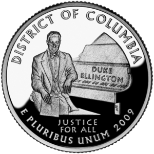 District of Columbia and United States Territories Quarters - District of Columbia quarter
