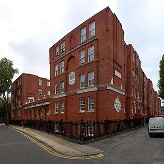 The Guinness Partnership - Guinness Trust Buildings in Snowsfields, London Borough of Southwark