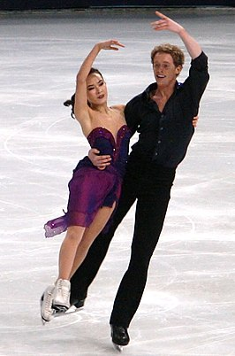Madison Chock en Evan Bates (2011)