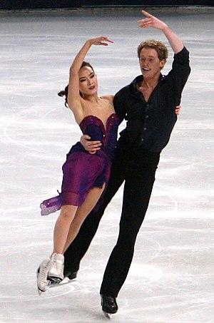 Madison Chock - Chock and Bates in 2011.
