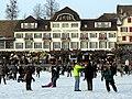 2012 'Seegfrörni' - Zürichsee - Hotel Schwanen - Rapperswil Hafen 2012-02-12 16-19-03 (SX230).JPG