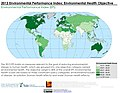 2012 Environmental Performance Index Environmental Health Objective (7166313742).jpg
