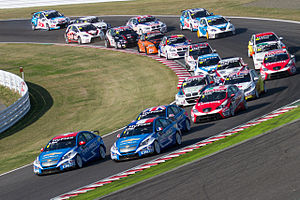 World Touring Car Championship - Race start at the 2012 FIA WTCC Race of Japan.