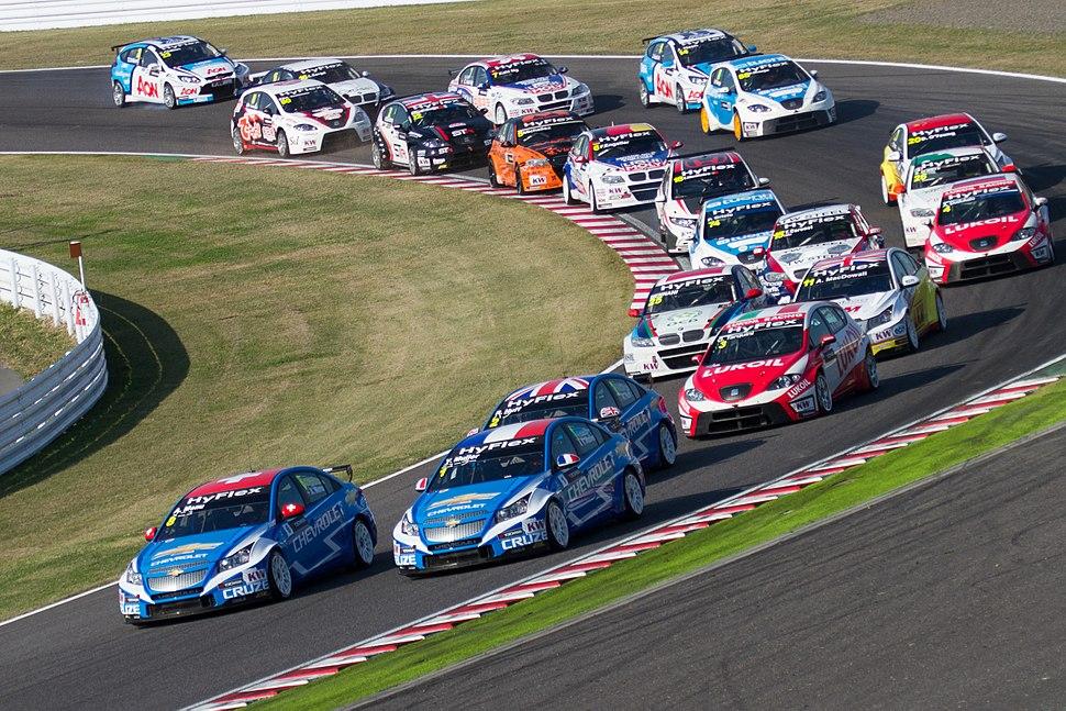 2012 WTCC Race of Japan (Race 1) opening lap