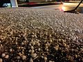 2013-02-23 03 59 28 Graupel (snow pellets) in Elko, Nevada.JPG