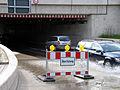 2013-05-31 Bahnhofstraße Celle, 09b2c02, Unterführung Überflutung am Bahnhof.JPG