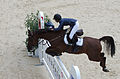 2013 Longines Global Champions - Lausanne - 14-09-2013 - Janika Sprunger et Aris CMS 1.jpg