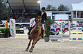 2013 Longines Global Champions - Lausanne - 14-09-2013 - Roger Yves Bost et Colombo van den Blauwaert 2.jpg