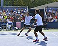 2013 US Open (Tennis) - Fabio Fognini and Albert Ramos (9661626291).jpg