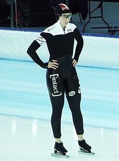Ivanie Blondin Canadian speed skater