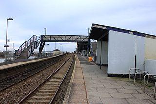 Starcross railway station Railway station in Devon, England