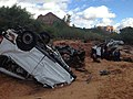 2015 Hildale, Utah, flash flood car remains.jpg