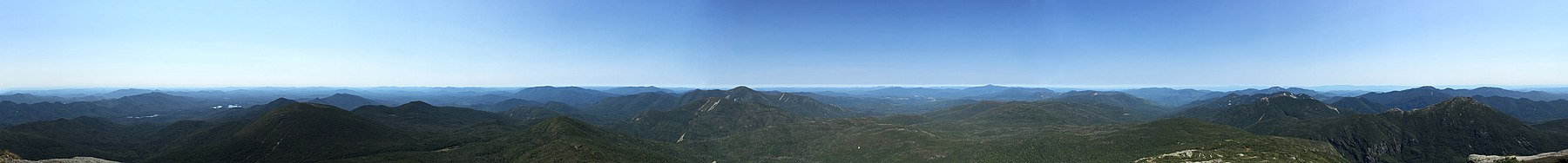 360 view from summit of Mount Marcy.