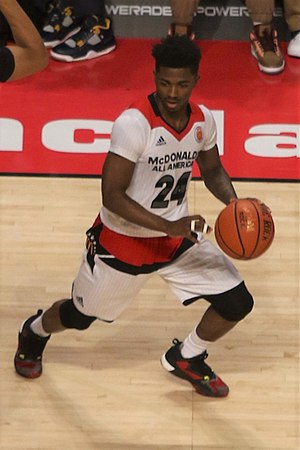 2016–17 Connecticut Huskies men's basketball team - Alterique Gilbert at the 2016 McDonald's All-American Game