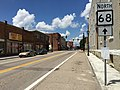 2017-07-24 14 00 07 View north along West Virginia State Route 68 (Washington Street) between Sand Street and Walnut Street in Ravenswood, Jackson County, West Virginia.jpg