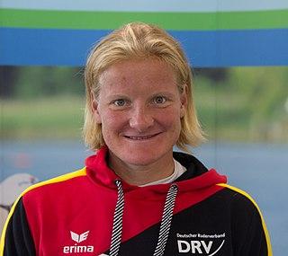 Annekatrin Thiele German rower