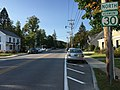 2017-09-10 17 31 17 View north along Vermont State Route 30 (Bonnet Street) at Historic Vermont State Route 7A (Main Street) in the Manchester Center section of Manchester, Bennington County, Vermont.jpg