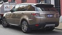 2017 Land Rover Range Rover Sport 5 0 L V8 Supercharged >> Range Rover Sport - Wikipedia