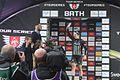 2017 Matrix Fitness GP, Bath - race leader Rebecca Durrell.JPG