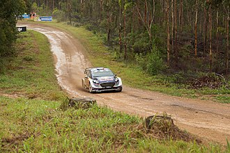 Special stage (rallying) - A special stage at the 2017 Rally Australia.