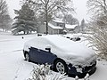 2018-03-21 10 29 44 A Prius in the snow along Tranquility Court in the Franklin Farm section of Oak Hill, Fairfax County, Virginia.jpg