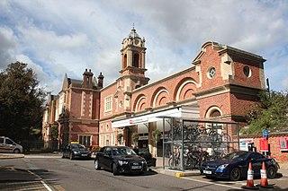 Bury St Edmunds railway station Grade II listed railway station in Suffolk, England