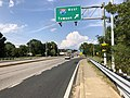 2019-08-20 16 35 52 View north along U.S. Route 1 (Belair Road) at the exit for Interstate 695 WEST (Towson) in Overlea, Baltimore County, Maryland.jpg