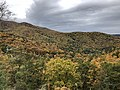 2019-10-26 12 51 47 View southwest across Devrick Hollow on the west side of Shenandoah Mountain from the Highland Turnpike (U.S. Route 250) in Highland County, Virginia.jpg
