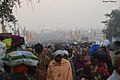 2019 Feb 04 - Kumbh Mela - Mauni Amavasya Crowd at 5-30am.jpg