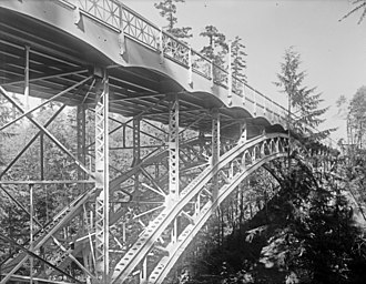 20th Avenue NE Bridge - Image: 20th Avenue NE Bridge, Seattle, 1914