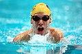 211000 - Swimming 200m medley SM8 Ben Austin silver action - 3b - 2000 Sydney event photo.jpg